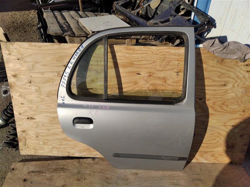 Дверь Nissan March K11 CG10(DE) 1999 задняя правая