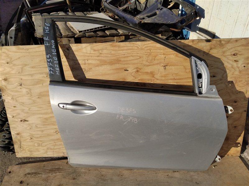 Дверь Mazda Demio DE3FS ZJ 2007 передняя правая