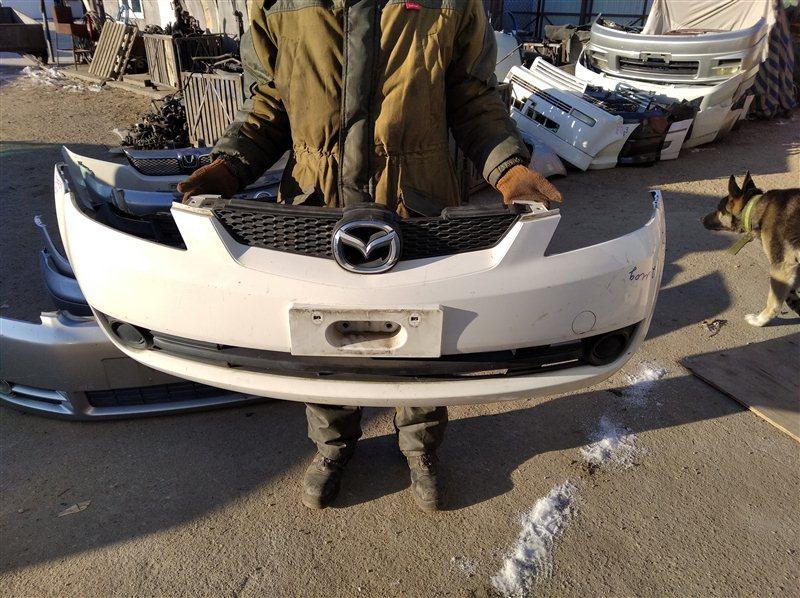 Бампер Mazda Demio DY5W передний