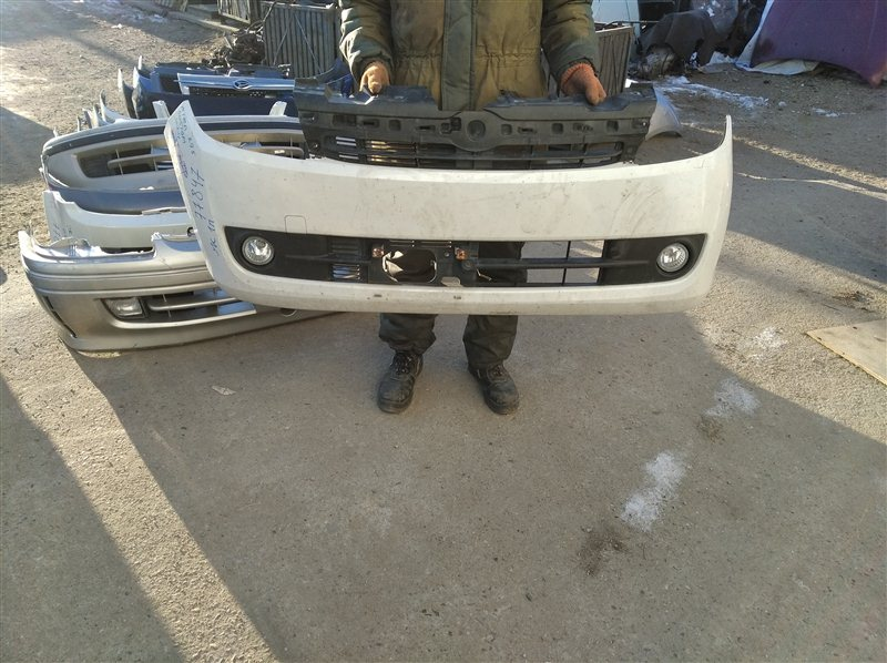 Бампер Daihatsu Mira L275S передний