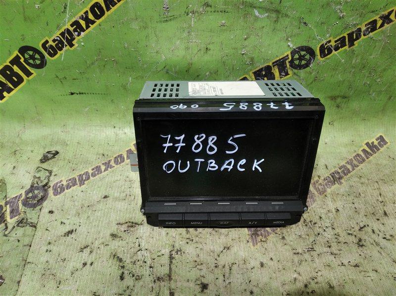 Монитор Subaru Outback BP9 EJ253 2005