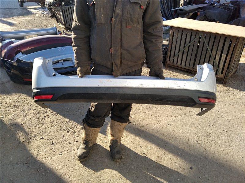 Бампер Nissan Wingroad Y12 HR15(DE) 2011 задний