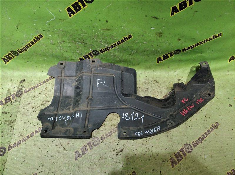 Защита двигателя Mitsubishi I HA1W 3B20 2006 передняя правая