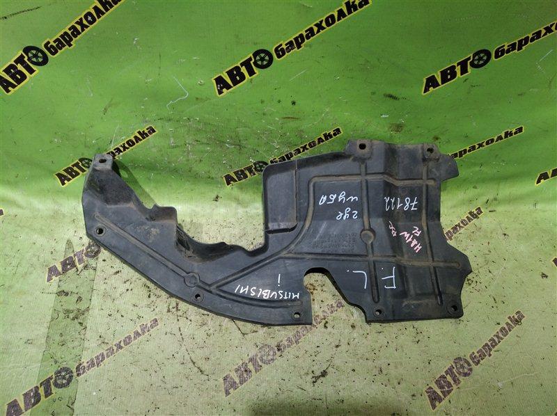 Защита двигателя Mitsubishi I HA1W 3B20 2006 передняя левая