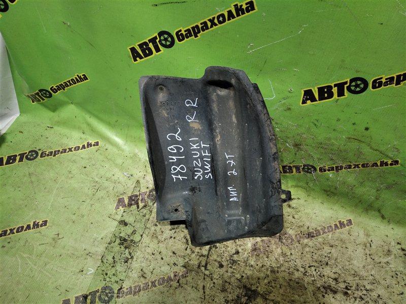 Подкрылок Suzuki Swift HT51S M13A 2005 задний правый