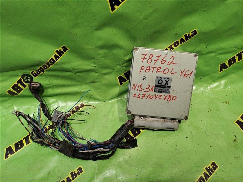 Блок efi Nissan Patrol Y61 ZD30