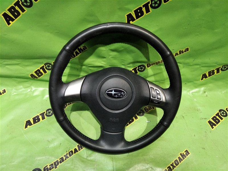 Руль с airbag Subaru Forester SHJ FB20ASZNXA 2011