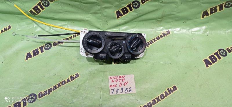 Климат-контроль Nissan Note E11 HR15 2009