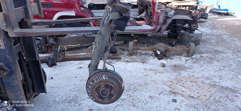 Балка со ступицами Nissan Wingroad Y12 HR15(DE) 2011 задняя