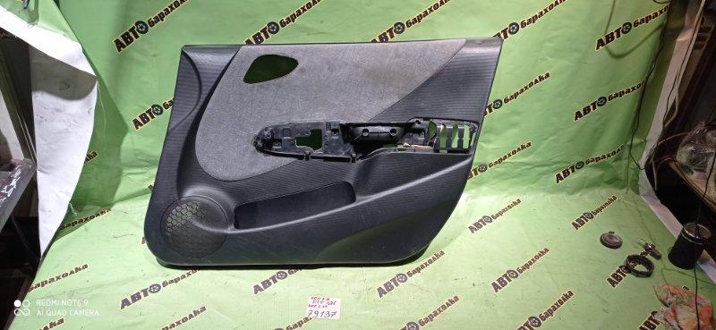 Обшивка дверей Honda Fit GD1 L13A 2002