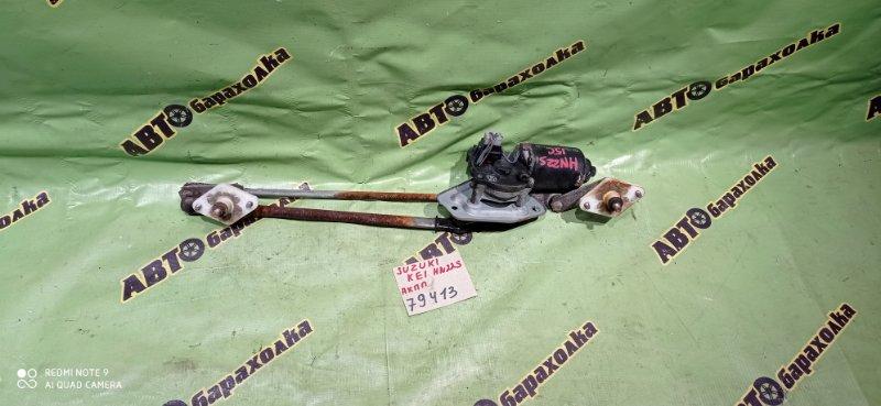 Механизм дворников Suzuki Kei HN22S K6A 2001