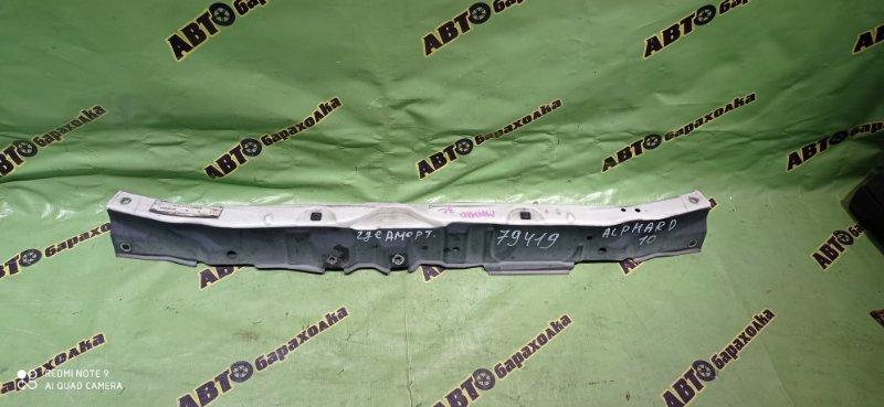 Планка телевизора Toyota Alphard MNH10 1MZ-FE 2005