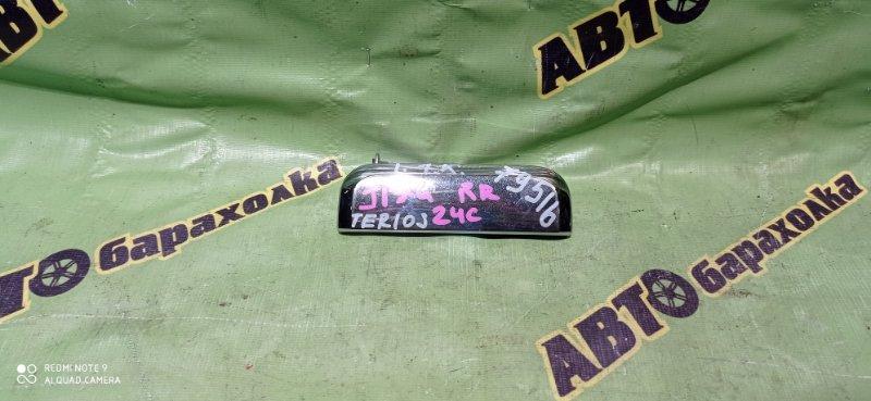 Ручка двери внешняя Daihatsu Terios Kid J131G EF-DEM 2001 задняя правая