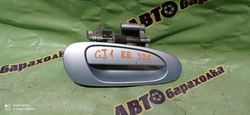 Ручка двери внешняя Honda Airwave GJ1 L15A 2005 задняя правая