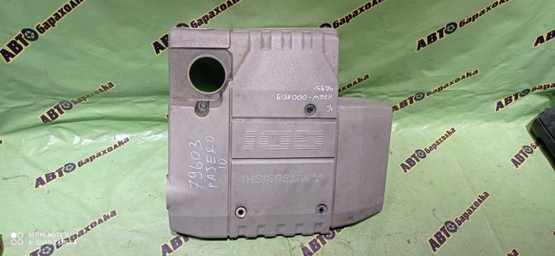 Декоративная крышка двс Mitsubishi Pajero Io H76W 4G93 1998