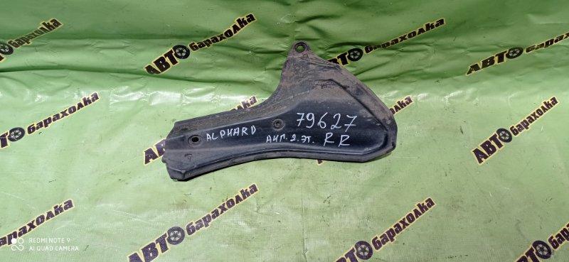 Подкрылок Toyota Alphard MNH10 1MZ-FE 2005 задний правый