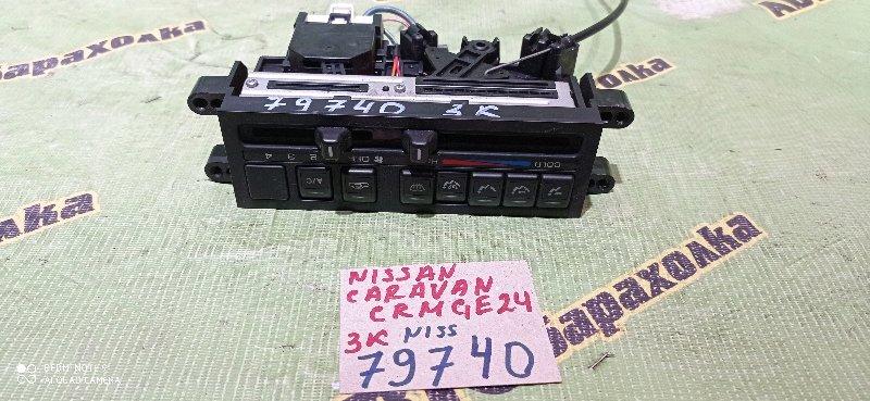 Климат-контроль Nissan Caravan CRMGE24 TD27 1995
