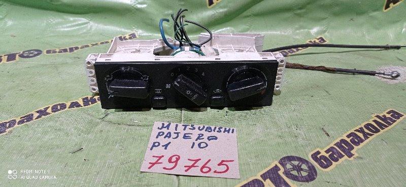 Климат-контроль Mitsubishi Pajero Io H76W 4G93 1998