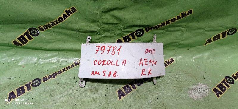 Планка под стоп Toyota Corolla AE111 4A-FE задняя правая
