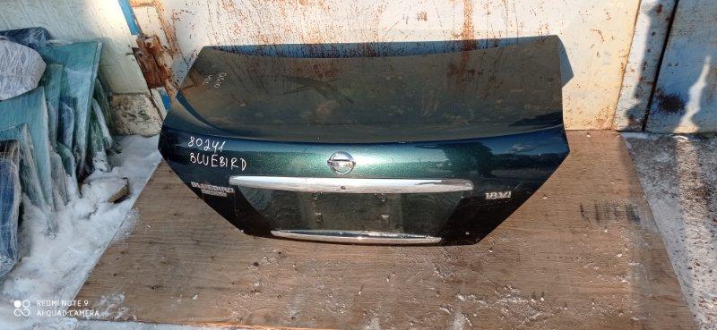 Крышка багажника Nissan Bluebird Sylphy QG10 QG18(DE) 2004 задняя