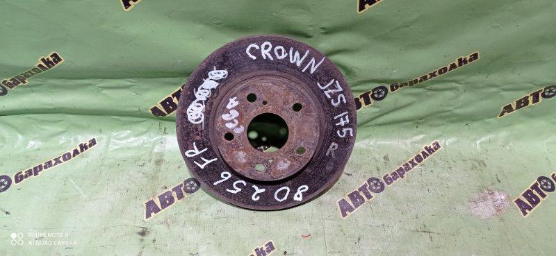 Диск тормозной Toyota Crown JZS 175 передний правый