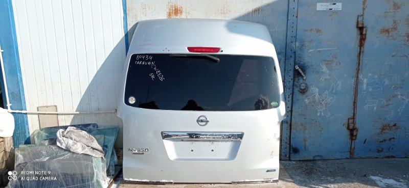 Дверь 5-я Nissan Nv350 Caravan CW8E26 YD25 2013 задняя