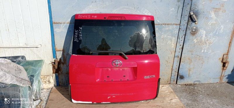 Дверь 5-я Toyota Sienta NSP81 задняя
