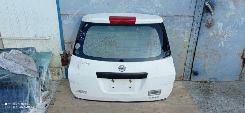 Дверь 5-я Nissan Ad Y12 задняя