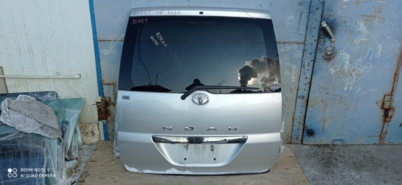 Дверь 5-я Toyota Noah AZR60 1AZ-FSE задняя