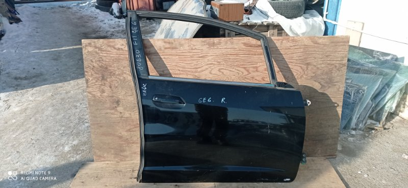 Дверь Honda Fit GE6 L13A 2008 передняя правая