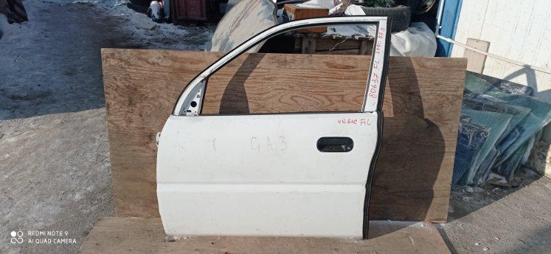 Дверь Honda Logo GA3 D13B 1999 передняя левая
