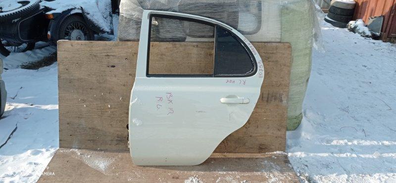 Дверь Nissan March BK12 CR14(DE) задняя левая