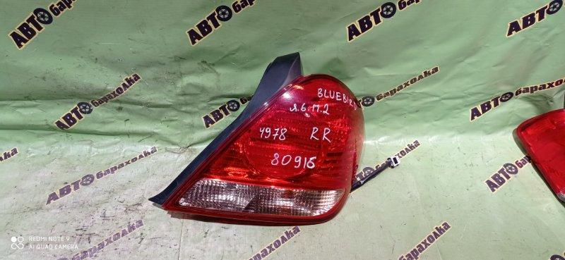 Стоп Nissan Bluebird Sylphy QG10 QG18(DE) 2004 задний правый