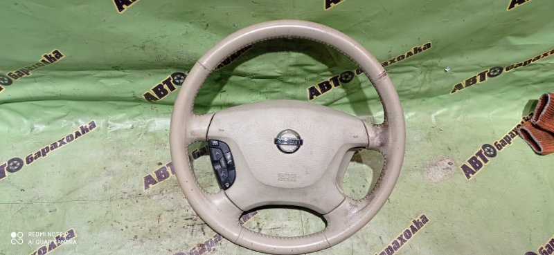 Руль с airbag Nissan Elgrand NE51 VQ35(DE) 2005