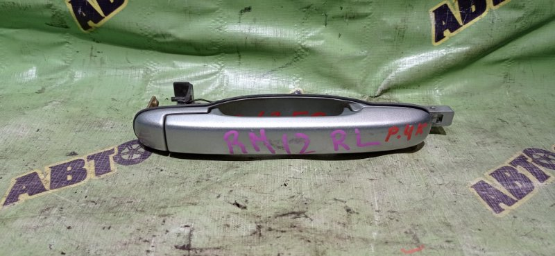 Ручка двери внешняя Nissan Liberty RM12 QR20(DE) 2002 задняя левая