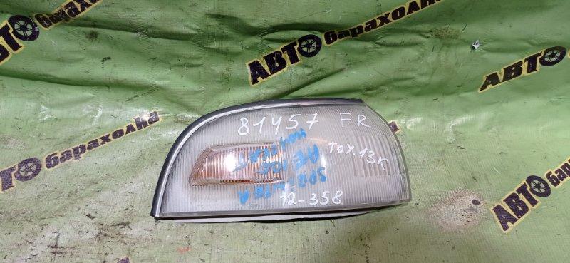 Габарит Toyota Sprinter AE100 передний правый