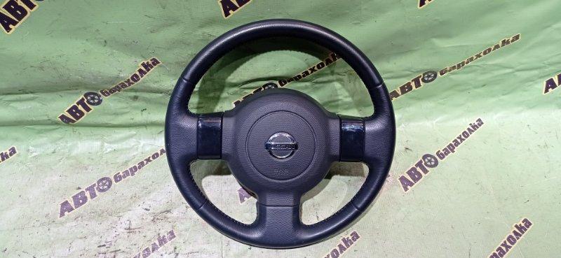 Руль с airbag Nissan Cube BZ11 CR14 2006