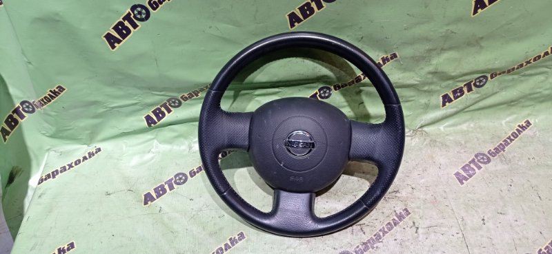 Руль с airbag Nissan March BK12 CR14(DE)