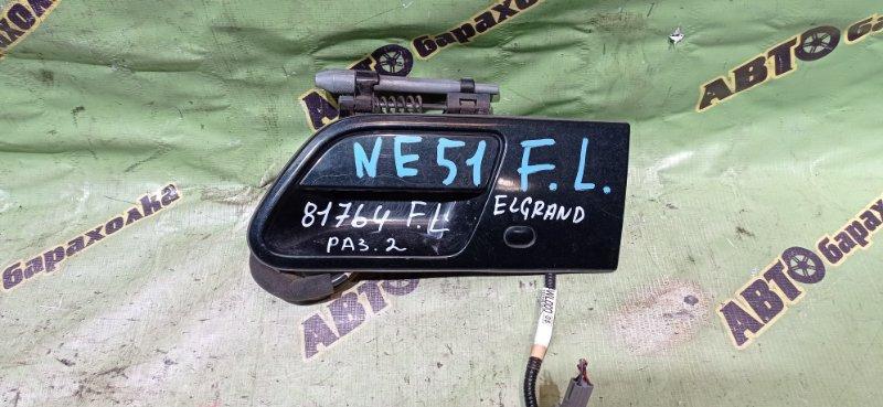 Ручка двери внешняя Nissan Elgrand NE51 VQ35(DE) 2005 передняя левая