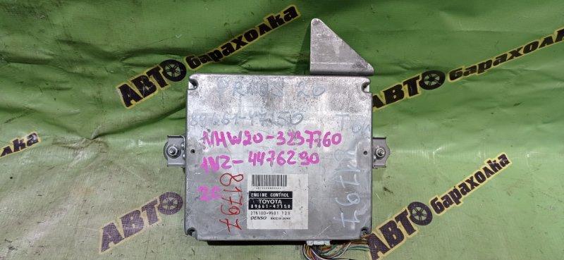Блок efi Toyota Prius NHW20 1NZ-FXE 2007