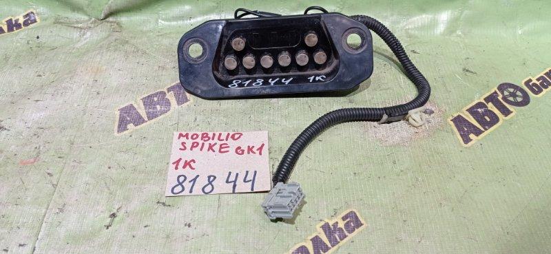 Контактная группа сдвижной двери Honda Mobilio Spike GK1 L15A 2004 задняя левая