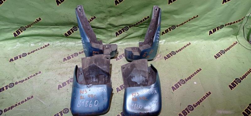 Брызговики комплект Honda Step Wagon RF3 K20A 2001