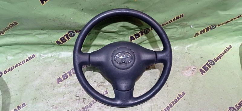 Руль с airbag Toyota Funcargo NCP20 2NZ-FE 2003