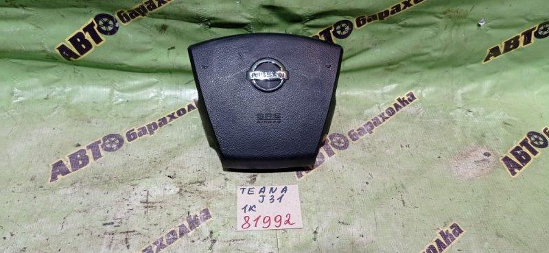 Airbag на руль Nissan Teana J31 VQ23(DE) 2003