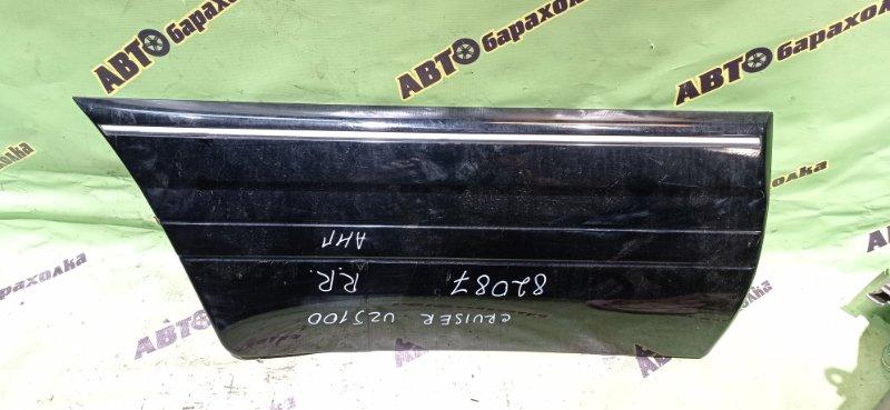 Накладка на дверь Toyota Land Cruiser UZJ100 2UZ-FE 2003 задняя правая