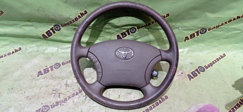 Руль с airbag Toyota Land Cruiser UZJ100 2UZ-FE 2003