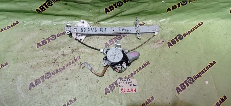 Стеклоподъемник Honda Fit GD1 L13A 2007 задний левый