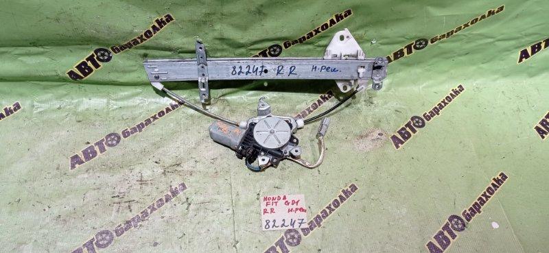 Стеклоподъемник Honda Fit GD1 L13A 2001 задний правый