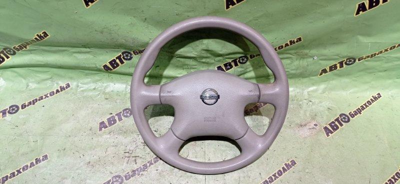 Руль с airbag Nissan Liberty RM12 QR20(DE) 2002