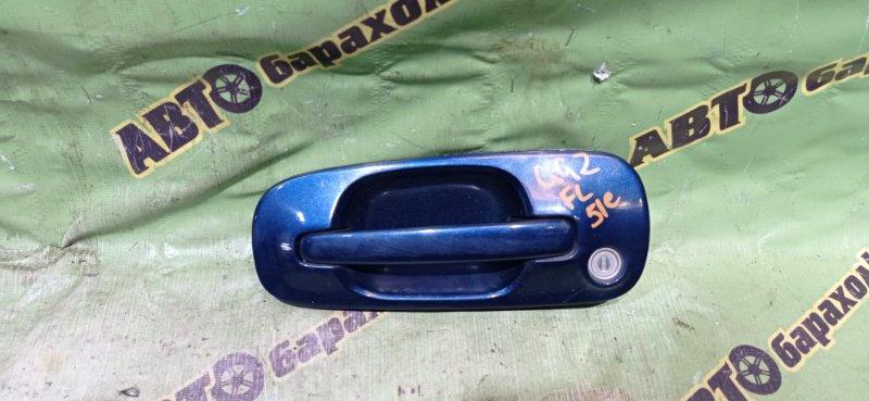 Ручка двери внешняя Subaru Impreza GG2 EJ152 2001 передняя левая
